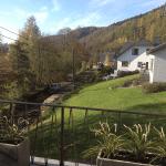 Uitzicht terras voorzijde